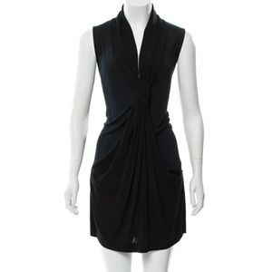 DVF WOMENS SLEEVELESS MINI DRESS + POCKETS SIZE6